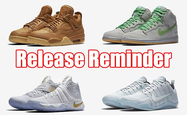 Sneakers Release October 27 29 2016