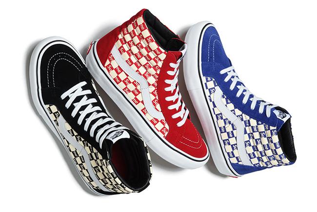 Supreme X Vans Checkerboard Pack Sneakerfiles
