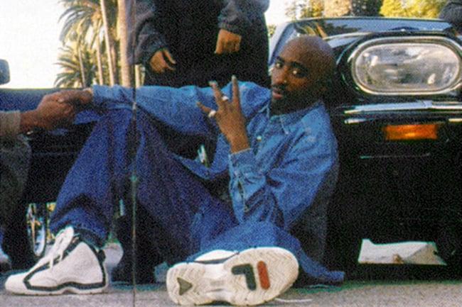 Tupac 2Pac Grant Hill Fila 96 Shoes