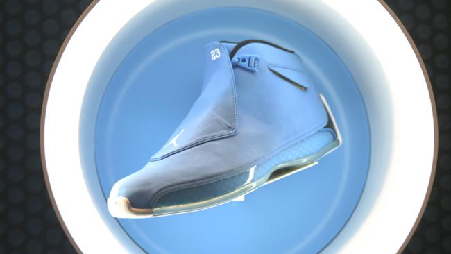 UNC Air Jordan 18