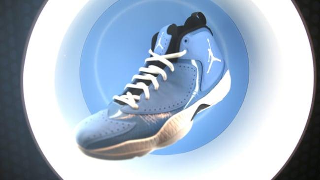 UNC Air Jordan 2012