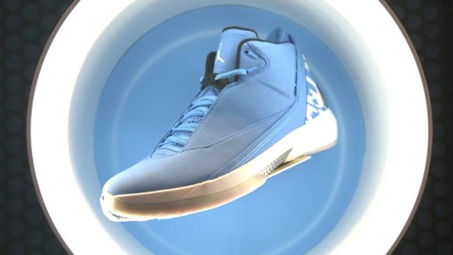 UNC Air Jordan 22