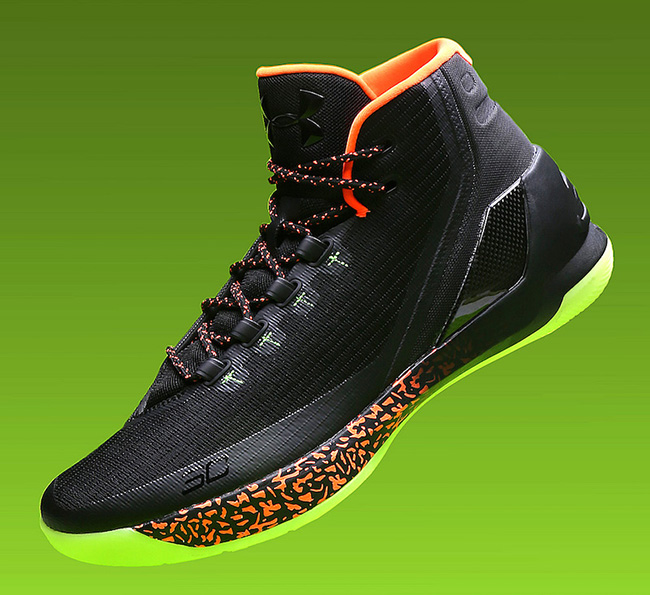 Under Armour Curry 3 Lights Out Halloween