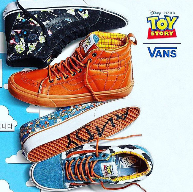 Vans X Toy Story Collection Sneakerfiles