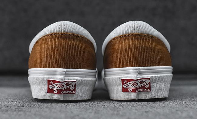 Vans Vault Classic Slip-On LX Golden Brown