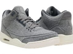 Wool Air Jordan 3 Grey