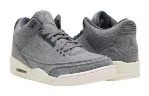 Wool Air Jordan 3 Grey
