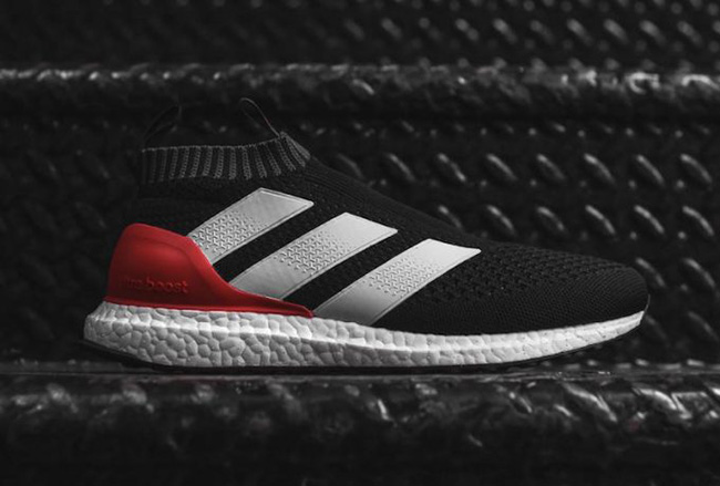 brand new 5b75f 1a80f ... australia adidas ace 16 pure control ultra boost black red 4762c fd1a9