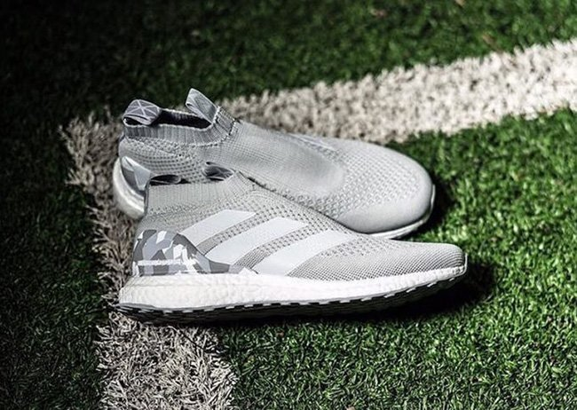 newest b1fca 07efa adidas ACE 16+ PureControl Ultra Boost Grey Camo | SneakerFiles