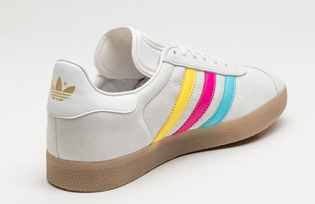 adidas Gazelle Color Stripe Pack CMYK