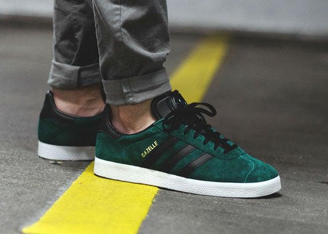 adidas Gazelle Green Suede BB5487 | SneakerFiles