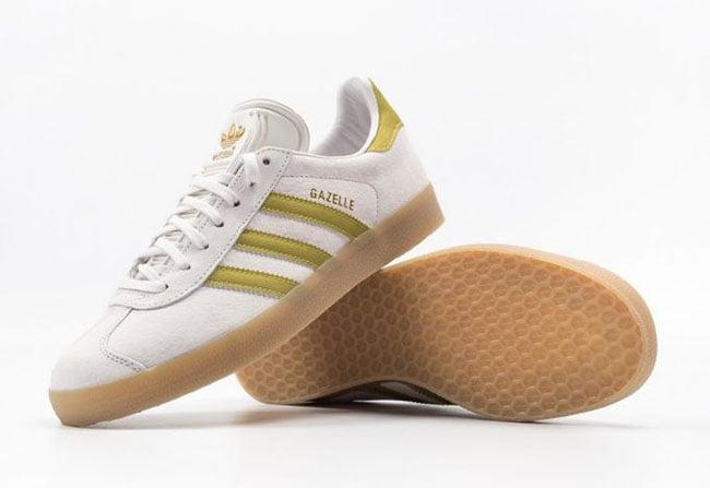 adidas Gazelle White Gold Gum BB5495 | SneakerFiles