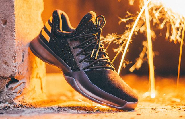 ca7c4109d601 1 primeknit shoes black utility black gold metallic b46b4 d9e17  coupon adidas  harden vol 1 imma be a star 17ac6 02781