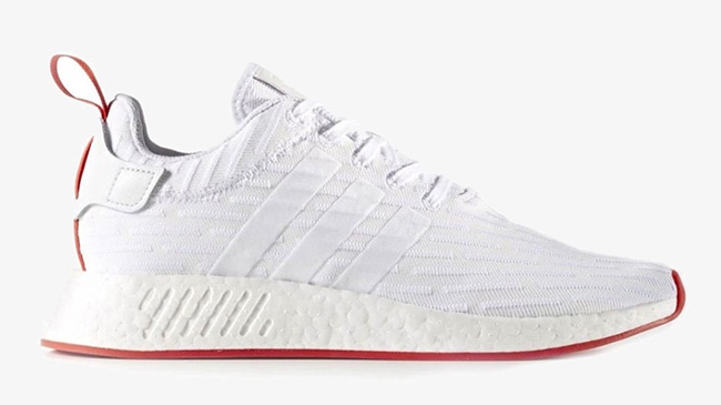 Adidas Nmd R2 Black White Red Sneakerfiles