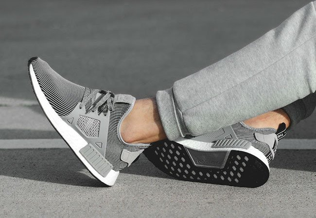 Cheap Adidas NMD XR1 PK PRIMEKNIT GLITCH CAMO WHITE CORE