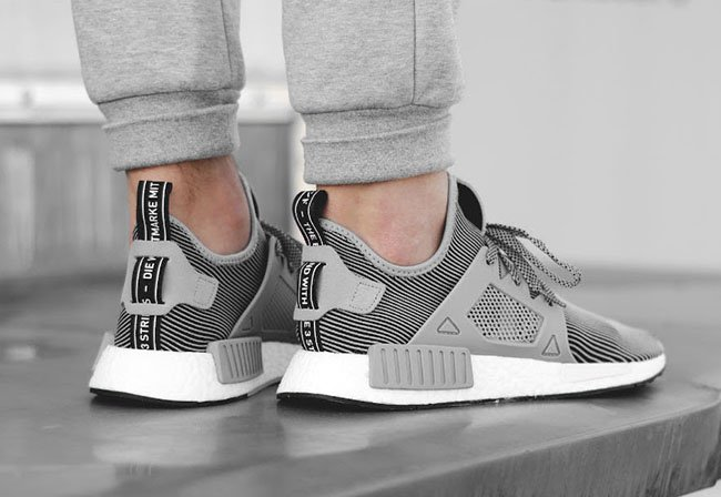Adidas NMD XR1 PK Glitch Grey (Women) Unboxing On Feet
