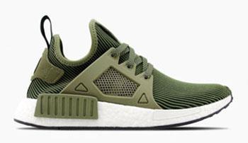 adidas NMD XR1 Primeknit Olive Green