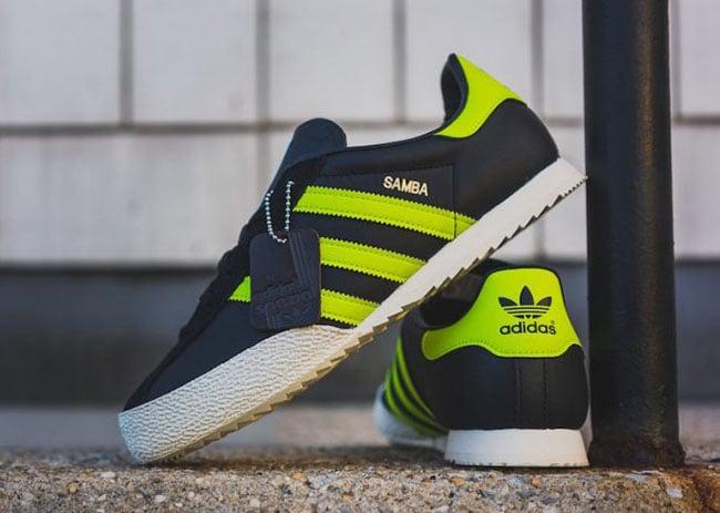adidas spezial black yellow