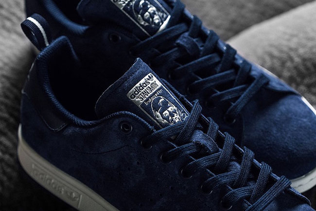 adidas Stan Smith Collegiate Navy Suede