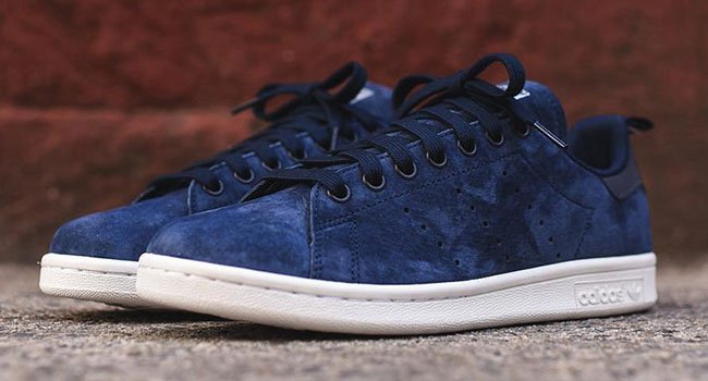 Adidas Stan Smith Suede Blue