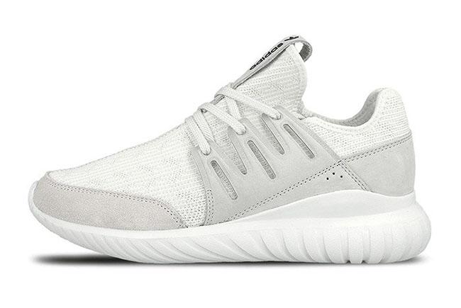 Adidas Tubular Radial Primeknit White