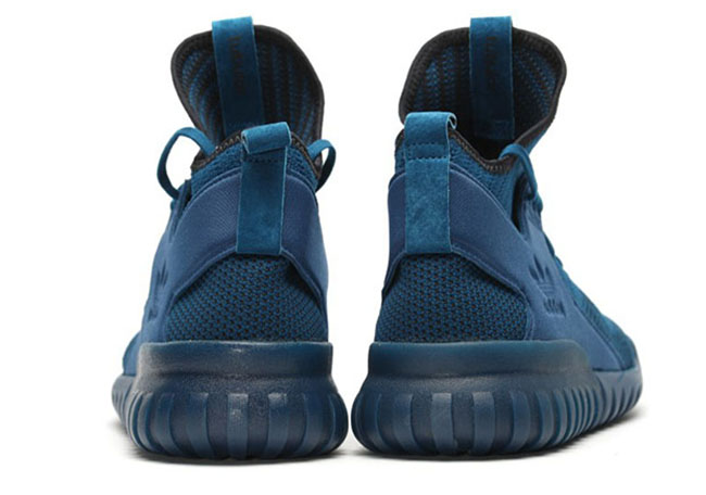 adidas Tubular X Primeknit Tech Steel Blue