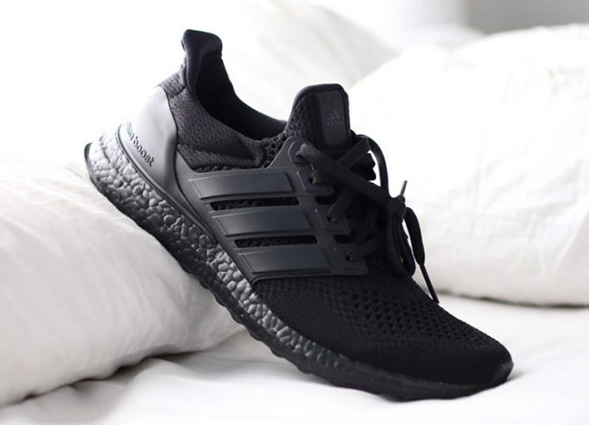 adidas Ultra Boost Triple Black December