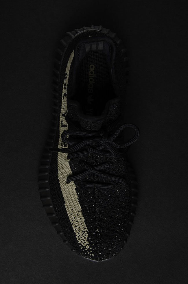 adidas Yeezy Boost 350 V2 Black Olive Green BY9611