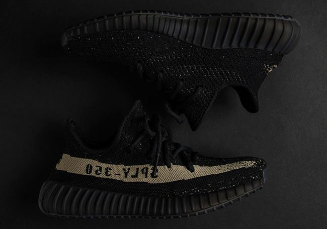 7468a6130aa adidas Yeezy Boost 350 V2 Black Green BY9611 Release Date