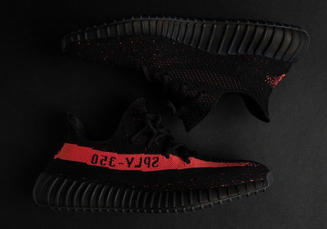 806523143ee adidas Yeezy Boost 350 V2 Black Red BY9612 Release Date