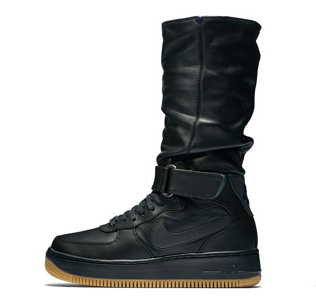 Air Force 1 High Boot Black Gum