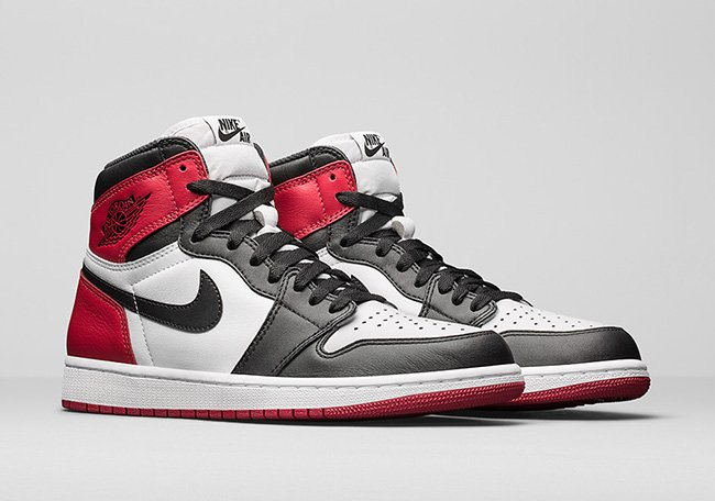 Air Jordan 1 Black Toe November 2016