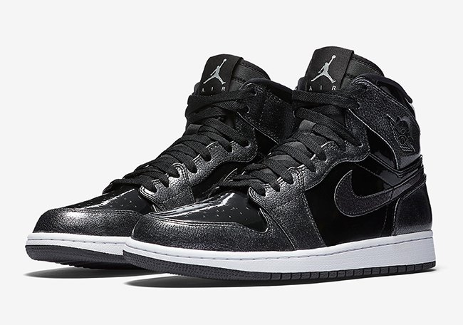 Air Jordan 1 High Black Patent Leather November 2016