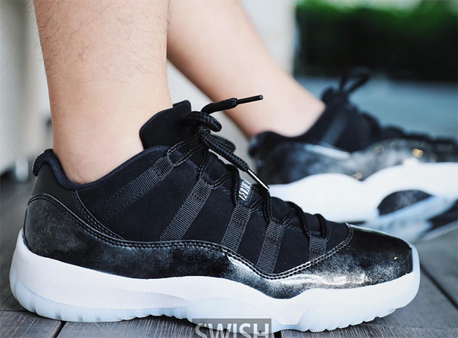 Air Jordan 11 Low Barons 2017