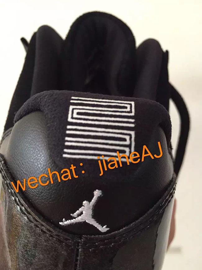 Air Jordan 11 Low Black White 2017