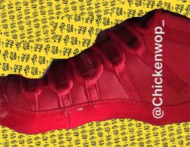 Air Jordan 11 Red Gold 2017