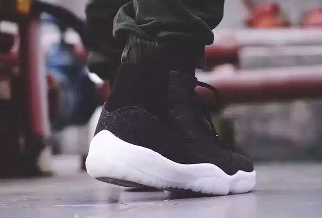 Air Jordan 11 Wool On Feet
