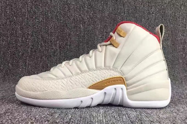 7b2c24883f9847 Air Jordan 12 GS CNY Chinese New Year Kids
