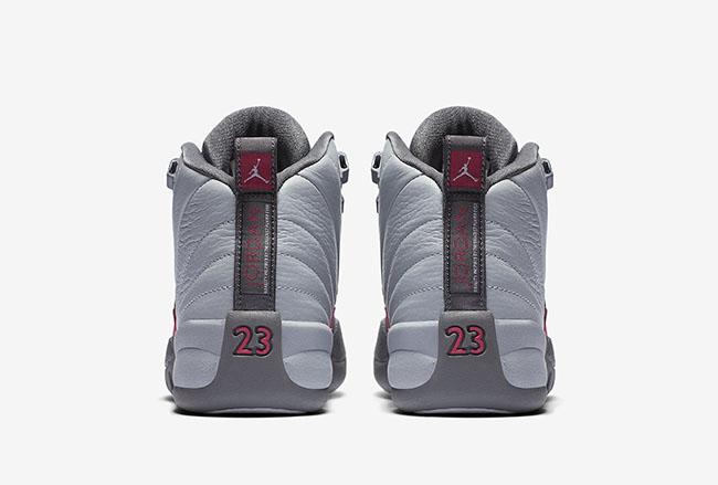 Air Jordan 12 GS Vivid Pink Cool Grey Wolf Grey