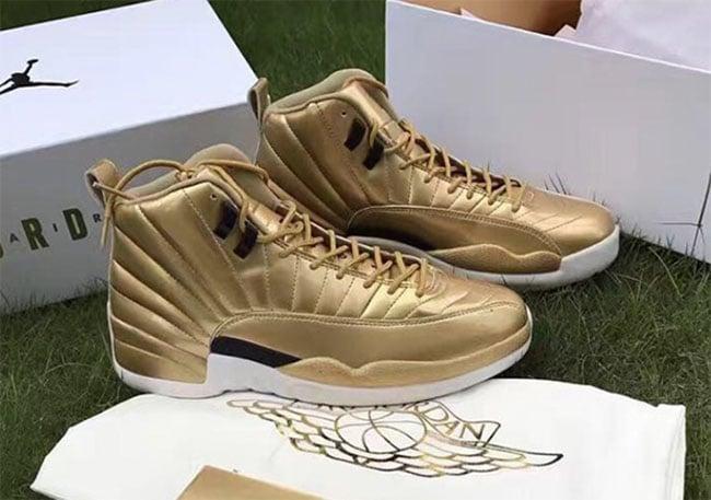 wholesale dealer 7715a 047ef Air Jordan 12 Pinnacle Gold Release Date | SneakerFiles