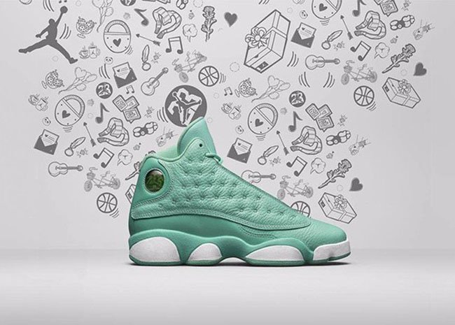 Air Jordan 13 What is Love Teal GS November 2016
