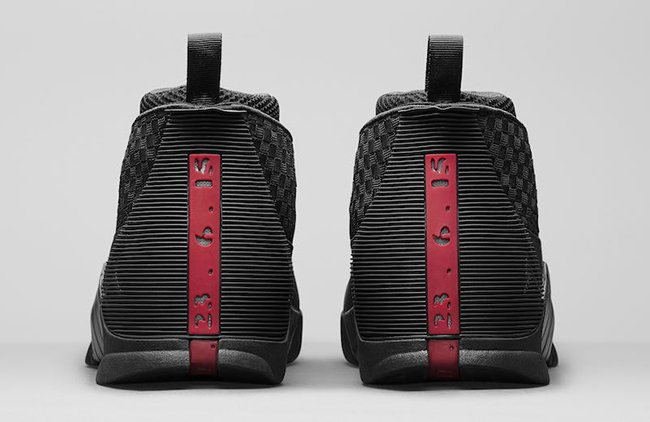 Air Jordan 15 OG Stealth Black Red