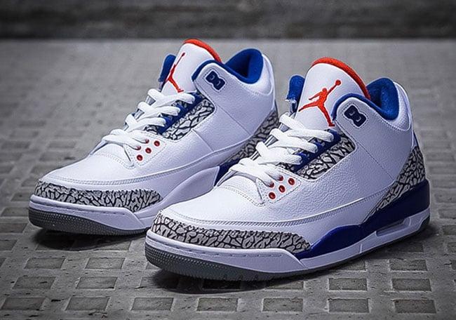 low priced dfa20 5b7ee Nike Air Jordan 3 OG True Blue 2016 | SneakerFiles