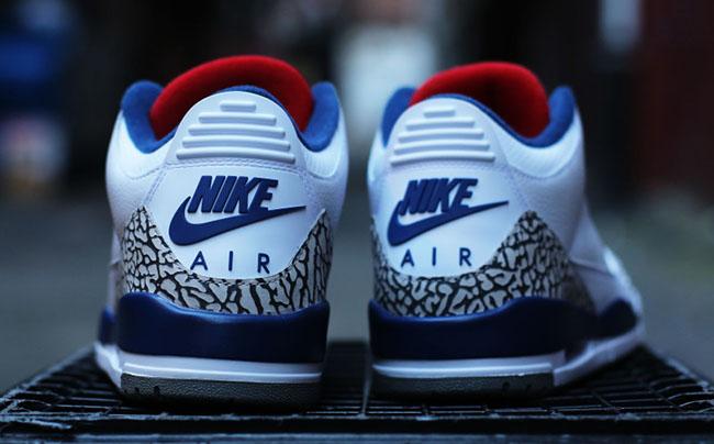 Air Jordan 3 True Blue 2016 Nike Air