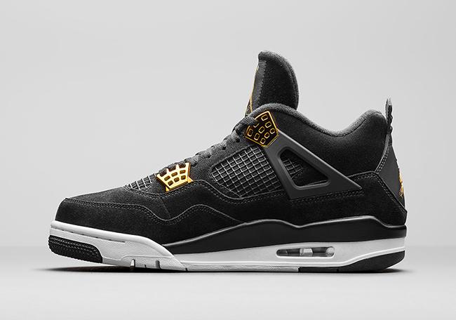 Air Jordan 4 Royalty Black Gold Release Date