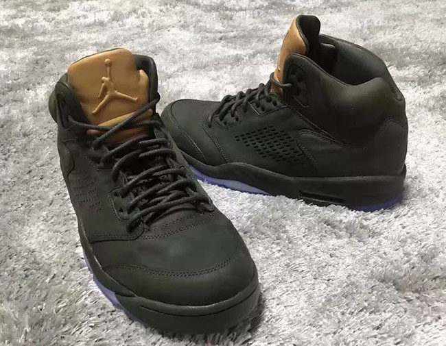 e1ce2b50d90 Air Jordan 5 Premium Vachetta Tan Sequoia Release Date   SneakerFiles
