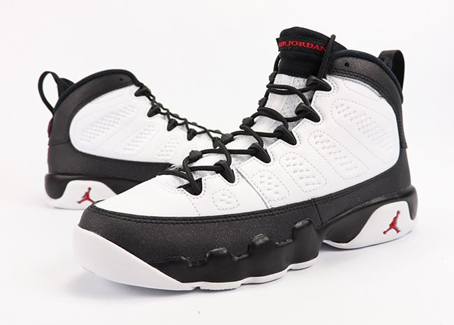 Air Jordan 9 OG Space Jam White Black Red 2016 Review