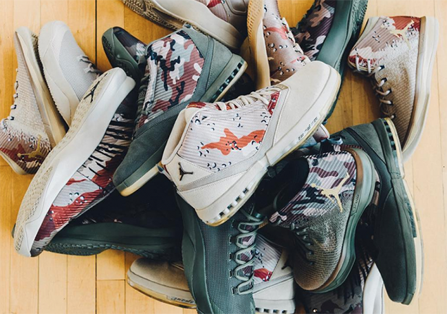 Air Jordan Veterans Day PE Collection