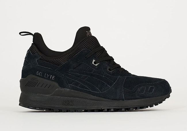 Asics Gel Lyte III MT Triple Black | SneakerFiles
