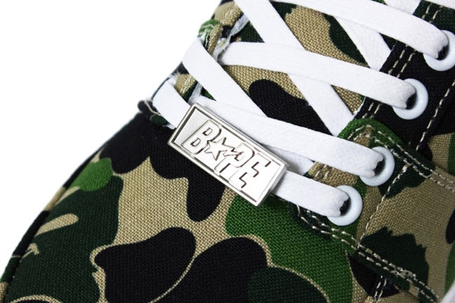 Bathing Ape Bapesta ABC Camo